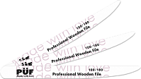 Пилка PÜF Professional Wooden File 100/180